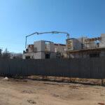 Zajęcia praktyczne na budowie